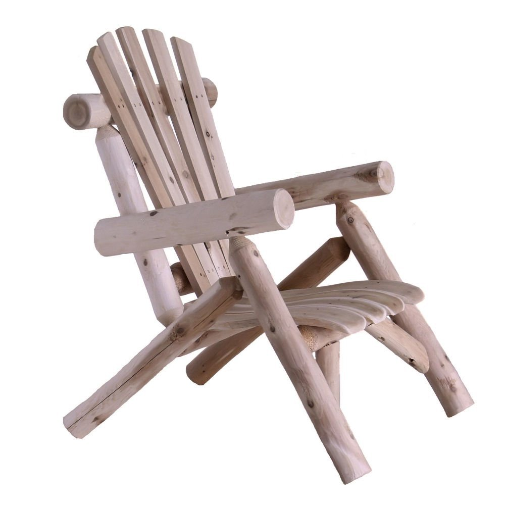 Lakeland Mills Cedar Log Lounge Chair