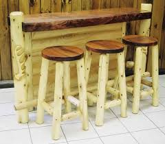 What type of wood can you use to make log furniture Best